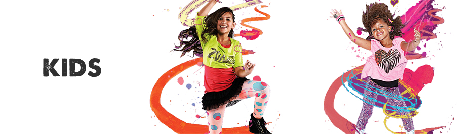 Zumba Clothes. Move to the beat in these bold and breathable zumba clothes. Loud colours and bright patterns are exactly what you need to get you in the mood for an up tempo class, but don't let that distract you from the basics: a great sports bra and moisture-wicking separates (from .